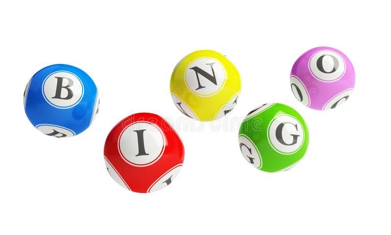 bingo stock illustrationer