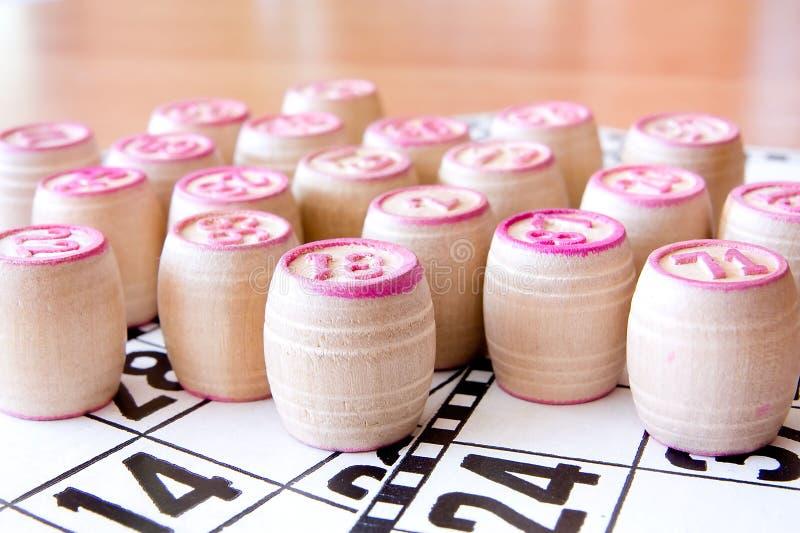 bingo arkivfoto