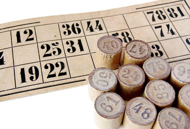 Bingo foto de archivo