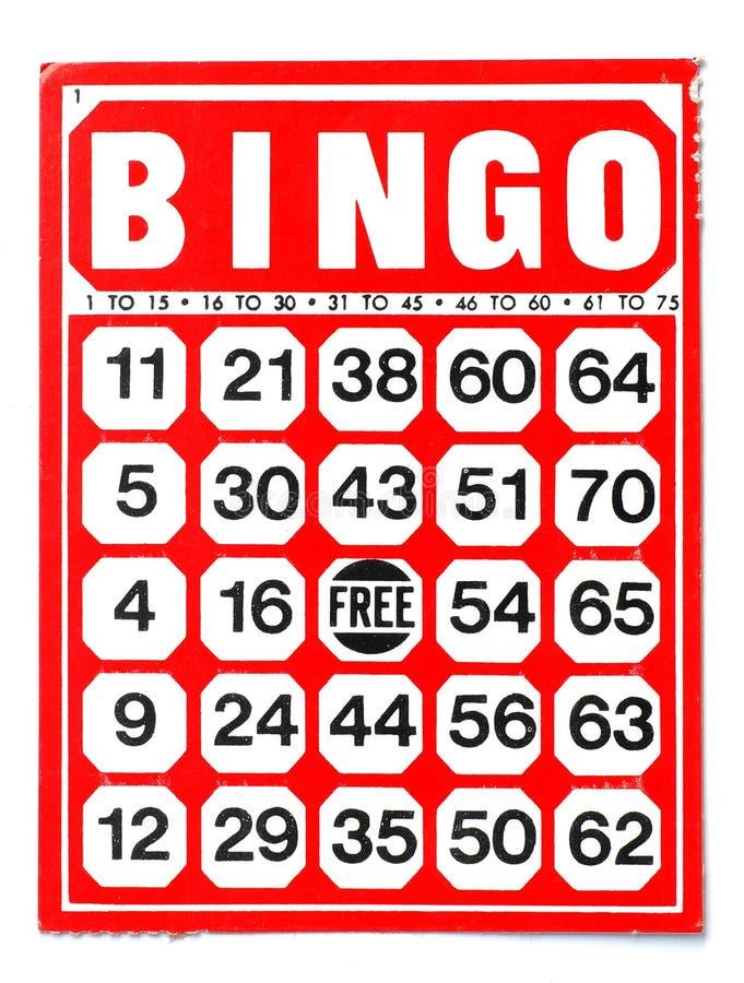 bingo стоковые изображения rf