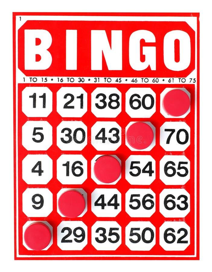 bingo arkivbild