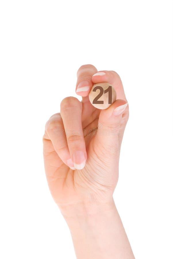 Bingo 21 fotografia stock