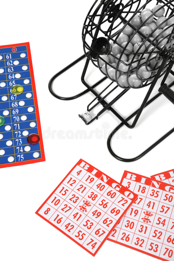 Bingo stock afbeelding