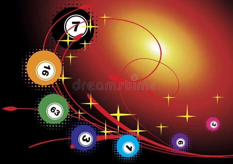 Bingo иллюстрация вектора