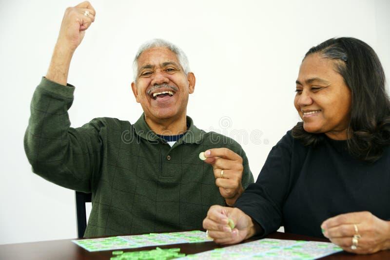 Bingo fotografia stock libera da diritti