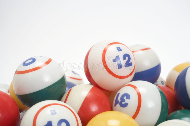 Bingo lizenzfreie stockfotos