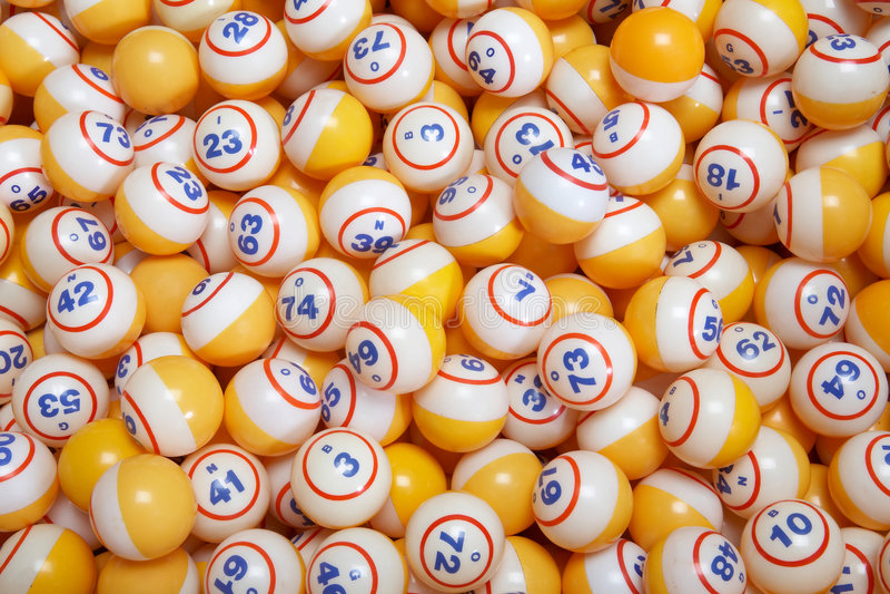 Bingo royalty free stock photo