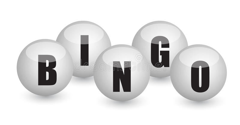 Bingo balls illustration design vector illustration