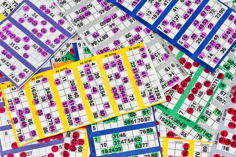 Download Bingo Cards stock photo. Image of winning, spotted, tombola - 32991842