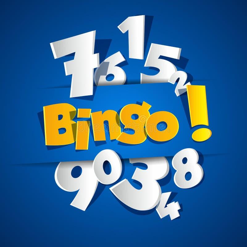 Bingo criativo ilustração stock