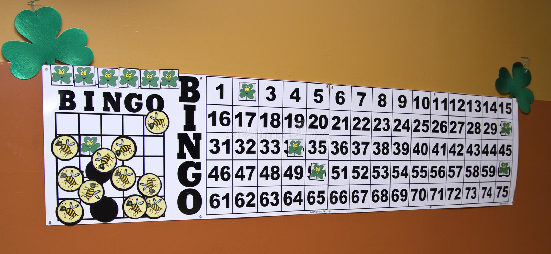 Bingo do Shamrock foto de stock royalty free