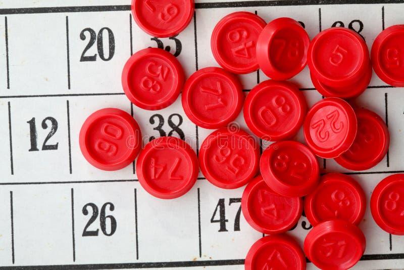 bingo gra zdjęcia stock
