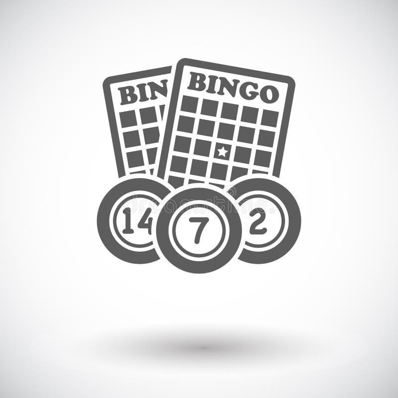 Bingo ikona royalty ilustracja