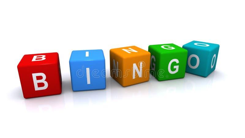 Download Bingo sign stock illustration. Illustration of three - 28232948