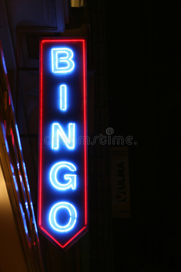 Bingo-test photo libre de droits