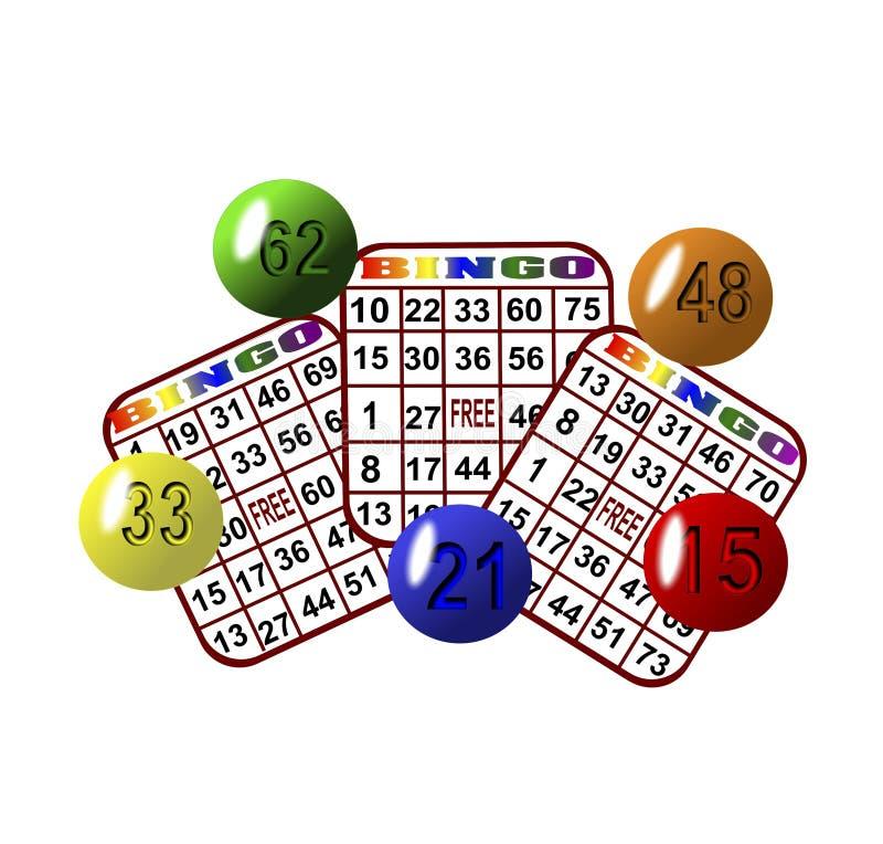 Bingo-test 3 illustration de vecteur