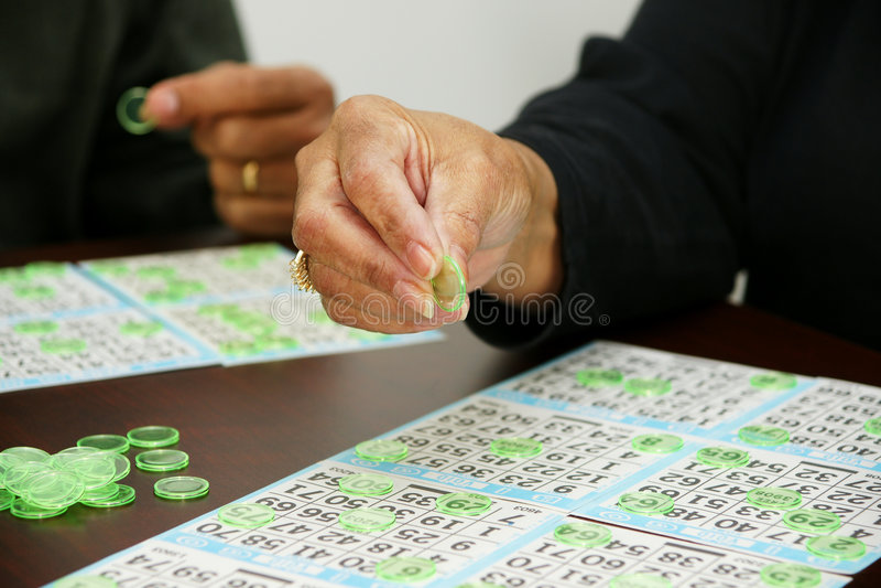 Bingo-test image stock