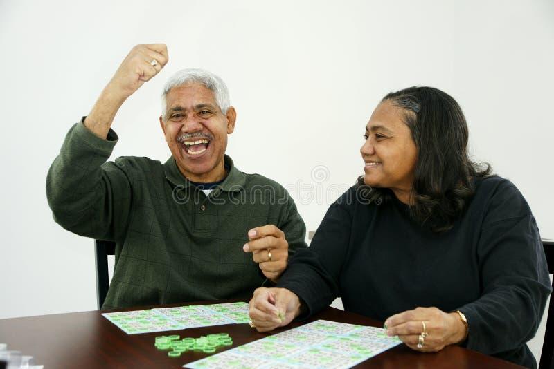 Bingo-test photo stock