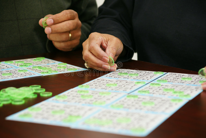 Bingo-test photographie stock