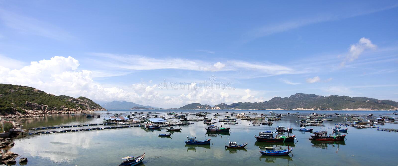 Binh Ba Island stock image