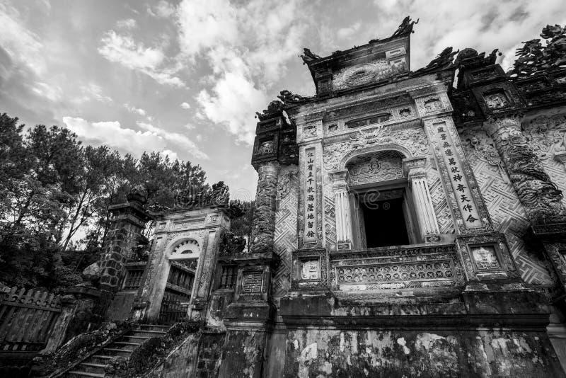 Binh Duong-stad, Vietnam stock afbeelding