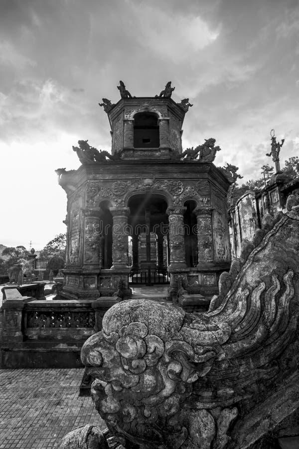 Binh Duong-stad, Vietnam stock foto
