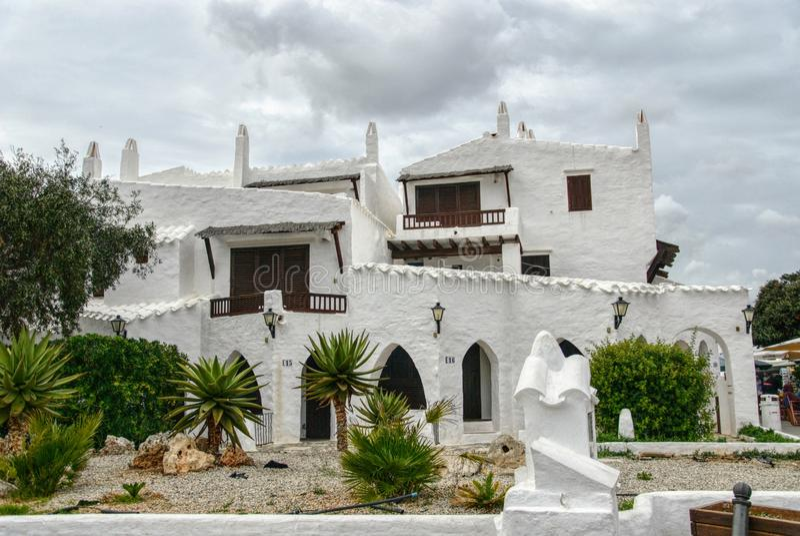 Binibequer, Menorca, Balearic Island, España fotografía de archivo libre de regalías