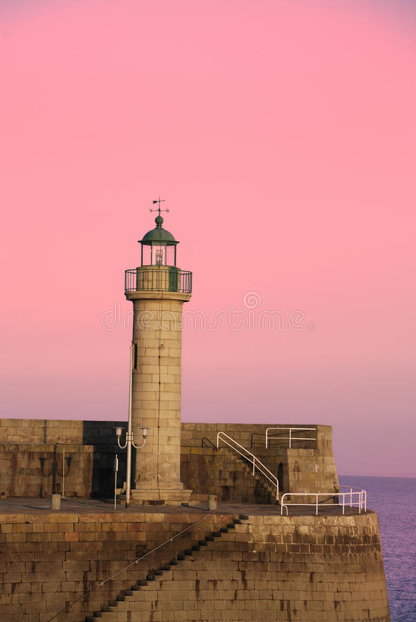 Binic dans Brittany photographie stock