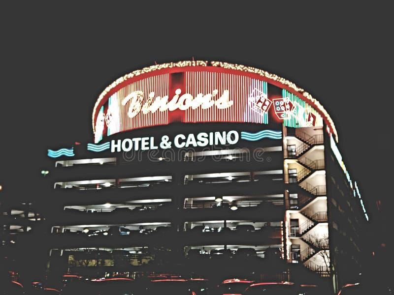 Binion's Hotel & Casino Building stock image