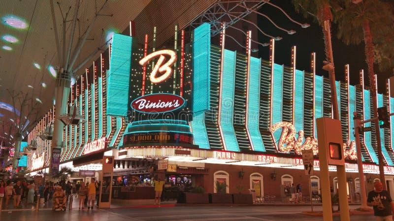 Binions Kasino stockfotos