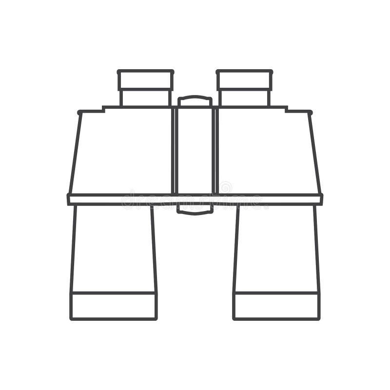bink 概述等高象 在白色背景隔绝的图表传染媒介例证 向量例证