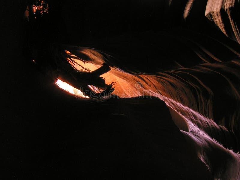 Binnen Canion 4 van de Antilope stock afbeelding