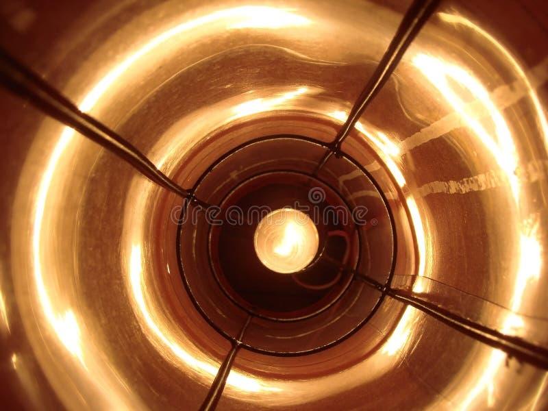 Binnen de Lamp royalty-vrije stock foto's