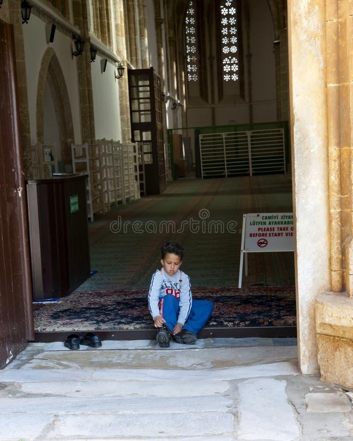 Download Binnen De Pasha Van Lala Mustafa Moskee Redactionele Fotografie - Afbeelding bestaande uit islam, christus: 29502242