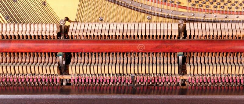 Binnen de piano stock afbeeldingen