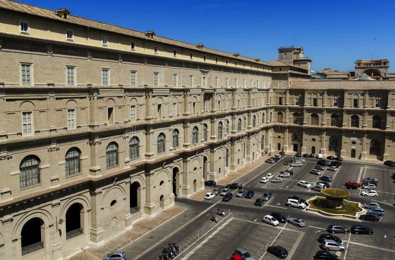 Binnen de stad van Vatikaan royalty-vrije stock afbeeldingen