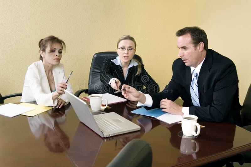 Binnen de vergadering
