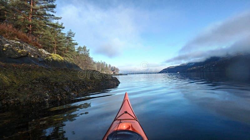 Binnen een droom in Noorwegen stock foto's
