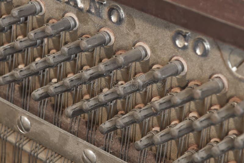 Binnen een Piano stock fotografie