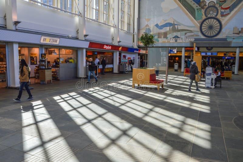 Binnen het Amstel-Nederland van Postamsterdam stock afbeelding