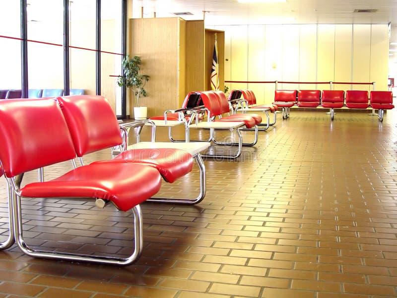 Binnen Kleine Luchthaven Stock Afbeeldingen