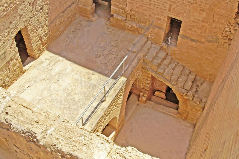Binnen Ribat, Monastir stock foto