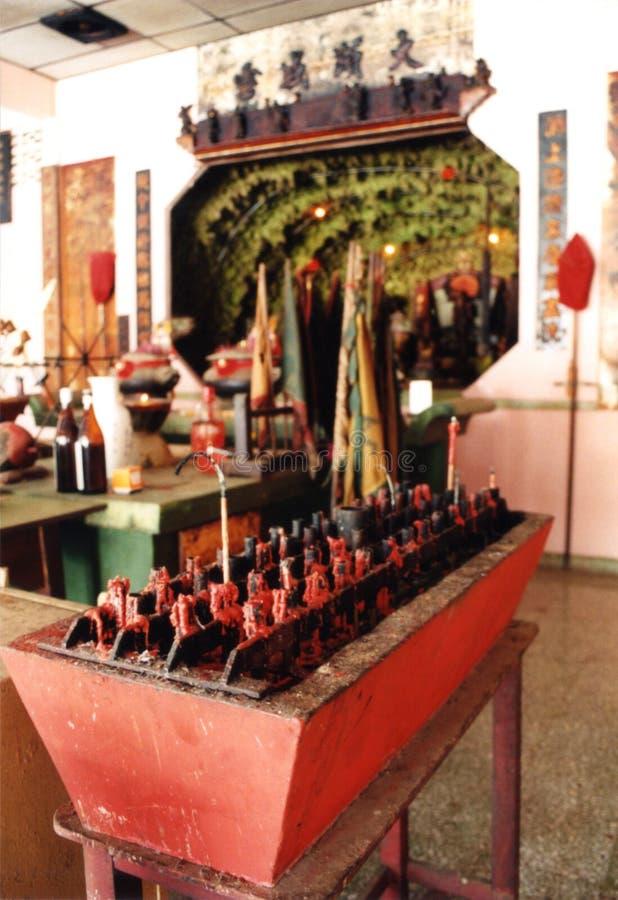 Binnen Tempel royalty-vrije stock fotografie