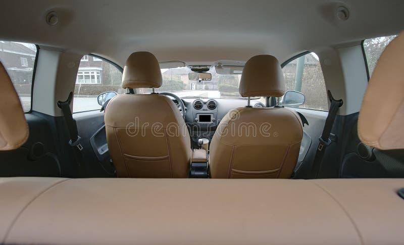 Binnen van een auto royalty-vrije stock fotografie