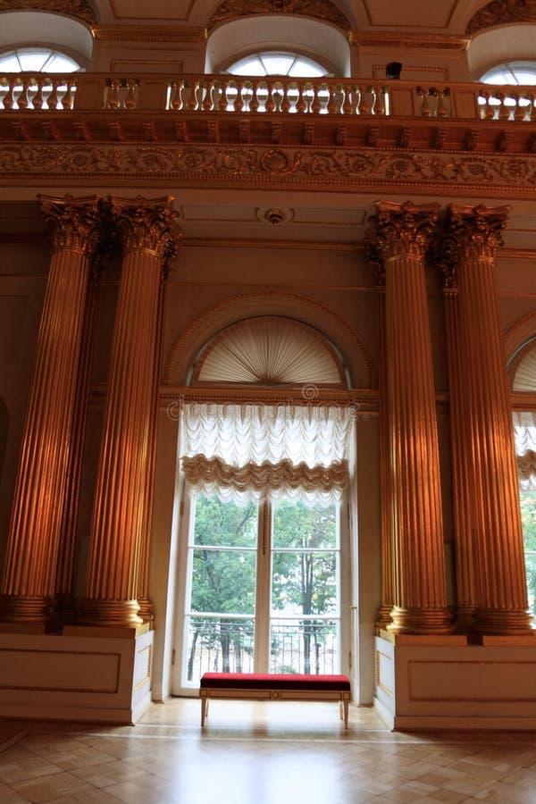 Binnen van paleis royalty-vrije stock foto's