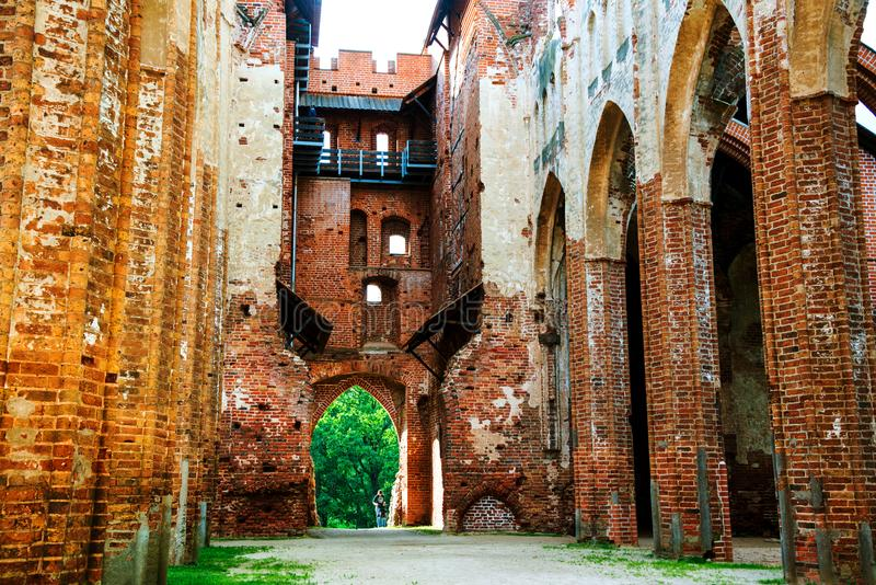 Binnendorpat-Kathedraal in Tartu, Estland royalty-vrije stock foto's