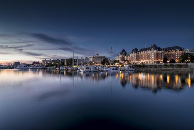 Binnenhaven van Victoria stock foto