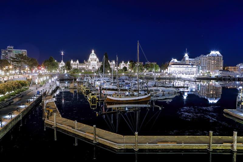Binnenhaven in Victoria BC royalty-vrije stock fotografie