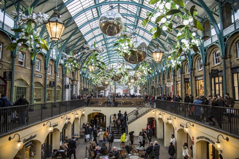 Binnenheksensamenkomsttuin in Londen het UK royalty-vrije stock foto's
