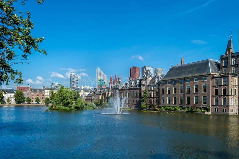 Binnenhof宫殿,海牙 库存图片